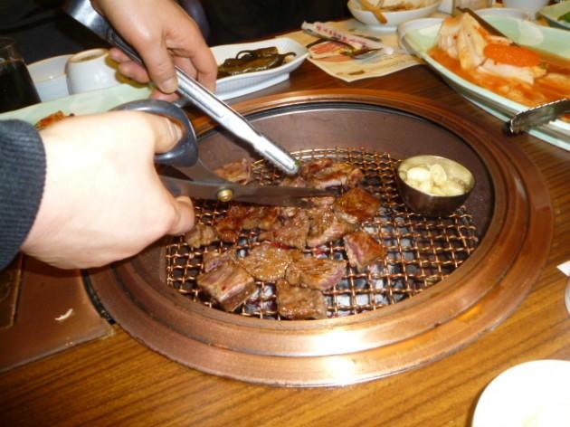 韓国 夕食