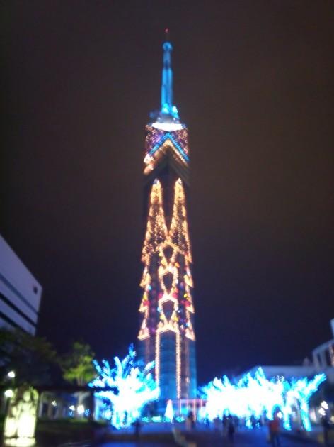 福岡タワー ライトアップ